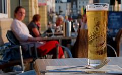 Bokeh Peroni at the Hoy (thesharkhunter) Tags: sunset beer bar peroni drink bokeh hoy