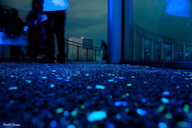 閃閃發光的地板