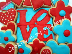 Love Collection (Cookieria by Margaret) Tags: wedding love casamento valentinesday robertindiana diadosnamorados decoratedcookie biscoitosdecorados bolachadecorada cookiesdecorados