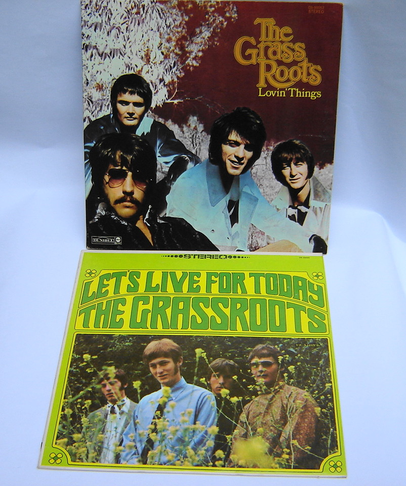 Original, 1960s Vintage, 2 Record Lot by The Grass Roots