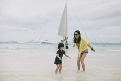 Boracay (Eason Q) Tags: white beach girl philippines boracay fridays