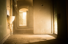 A Mile (--Conrad-N--) Tags: a7rm2 abandoned prison cell light shadow sony go2know decay