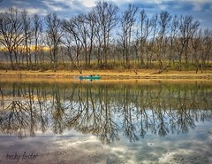 The River (beckfost) Tags: riverscene rainbowdriveresort troutfishing arkansas whiteriver shotoniphone