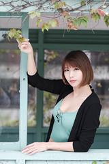 DSC_5725 (錢龍) Tags: 希維亞 小希 文創園區 外拍 beauty sexy nikon d700 girl 短髮