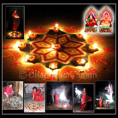 "Deepawali or Diwali ""festival of lights"" (dharmensingh) Tags: street india streets festival lights colours fireworks agra victory diwali hindu festivaloflights deepawali hindufestival goddesslakshmi indianfestival ayodhya lordrama"