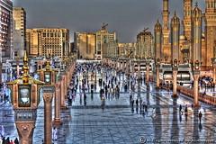 AL-Madina AL-Munawra (ALdowayan) Tags: canon amazing saudi arabia  almadina  d450 almunawra