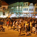 Sighisoara:  Night view Sighisoara Medieval Festival
