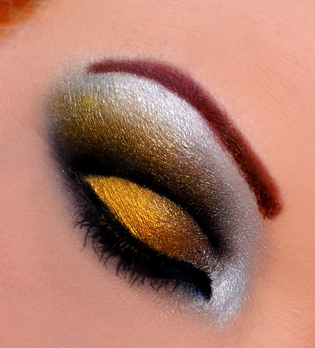New Orleans Saints inspired eyes 2