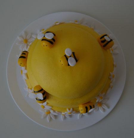 tartas y nubes de azúcar: Panal de abejas