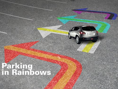 parkeren op kleur
