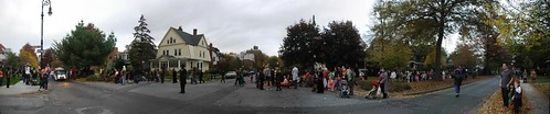 Panorama: Prospect Park South Halloween Parade 2009