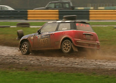 Rally Cross Mini Airborne (ShaunPG) Tags: mini croft bmw rallycross superprix