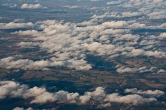 Over the conntry side - 3 (Phaneesh N) Tags: london clouds inflight arial