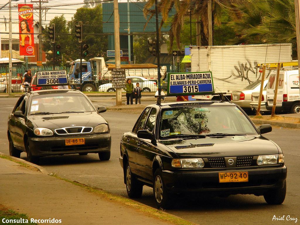 Resultado de imagen para taxis colectivos gran santiagoo la florida
