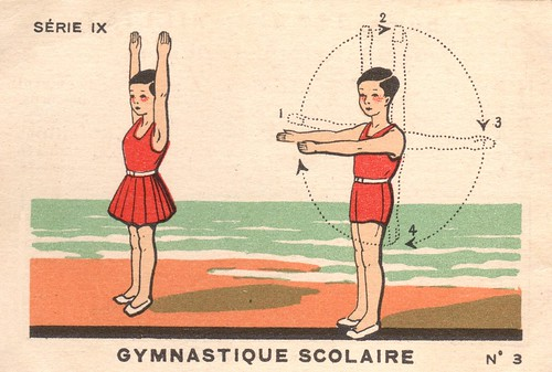 1933-34, Album Milliat, gymnastique scolaire