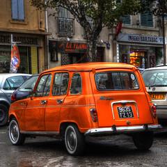 4Lsuper 2 (marcovdz) Tags: auto orange car marseille voiture collection 4l renault4