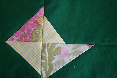 Green Block Quilt