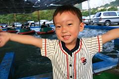 20091108_9817 (Yiwen103) Tags: 內灣 露營 尖石 卡丁車 櫻花谷 碰碰船 踏踏球
