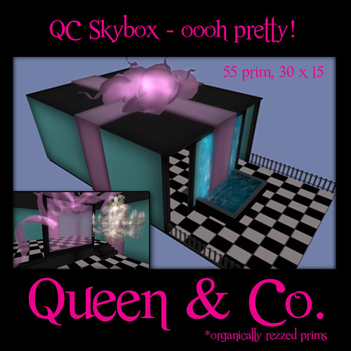 Queen & Co. Skybox - oooh pretty!