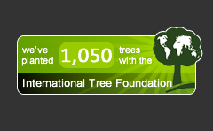 International Tree Foundation Widget
