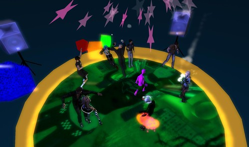 mr widget party at muzik haus