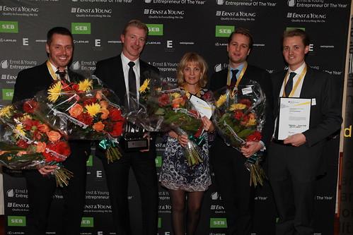 Vinnarna på EOY 2009