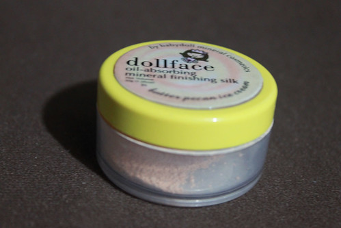 Dollface Cosmetics Oil Absorbing Mineral Finishing Silk