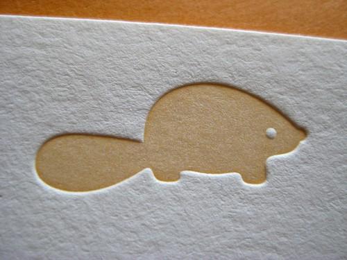 Beaver in mandarin