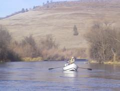 Klamath River Driftboat Landscape