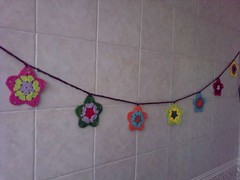 Stars Garland!!! (LauraLRF) Tags: colors thread star crochet garland colores cotton hilo estrella algodon guirnalda ganchillo