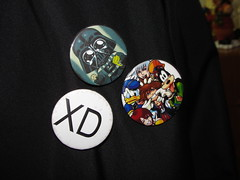 Nerd bottons! (YumexPandora) Tags: nerd cookies funny darth vader darthvader xd bottons kingdomofhearts