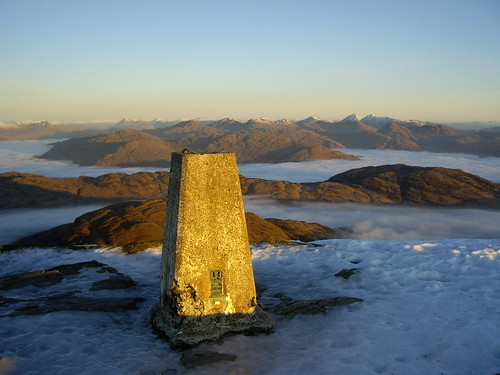 North from Ben Lomond