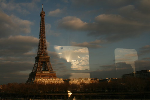 Paris, from the metro.