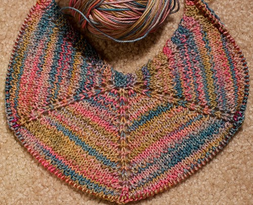 Casbah Seashore shawl