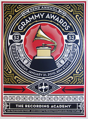 Official 52nd Grammy Awards Poster Art