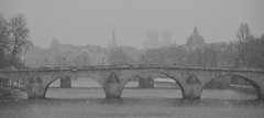 Pont Royal sous la neige - Paris - France (louistib) Tags: bridge snow paris france seine river louis rivire notredame pont niege classique ilesaintlouis thibaud pontroyal chambon louistib louisthibaudchambon thebestofday gnneniyisi img89951c