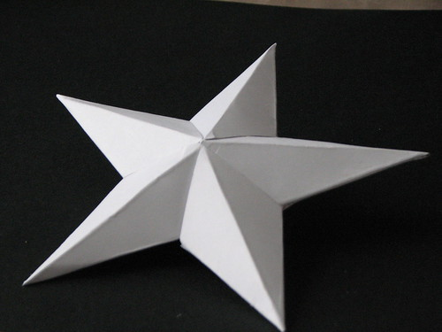 3 Dimensional Star Ornament 006