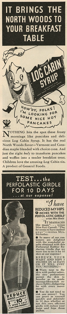 Log Cabin ad_Dec 1933_tatteredandlost