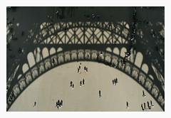 FRANCE PARIS-010 (Devimeuxbe) Tags: paris france tour eiffel shades aerial vision contrasts ombres silouhettes graphism devimeux