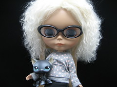Bianca with LPS kitty Morticia