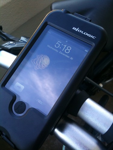 Biologic iPhone/iPod Mount on test