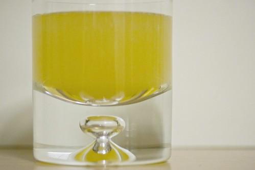 brandy, pear nectar, prosecco