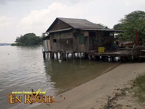 Pulau Ubin Stilt House