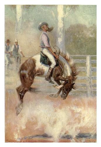 028-Un domador de caballos australiano-Australia (1910)-Percy F. Spence