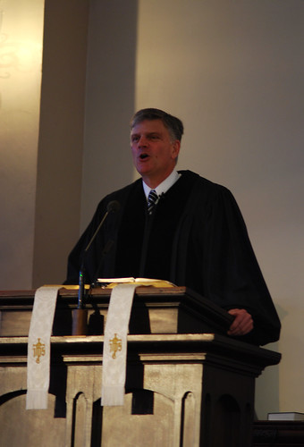 Franklin Graham Speaking at Park Street Church