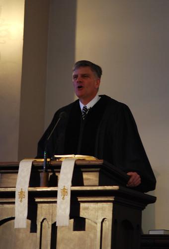 Franklin Graham Speaking at Park Street Church