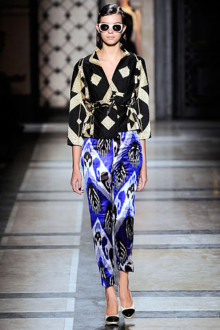 Dries van Noten 2010 Abstract Patterns