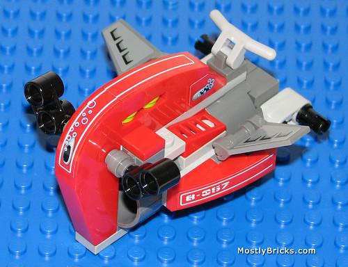 2010 LEGO Atlantis 8057 Wreck Raider