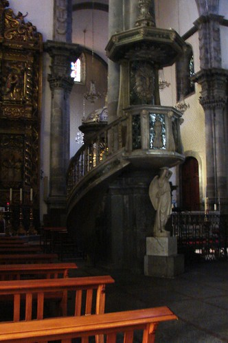The pulpit at the Church of Conception