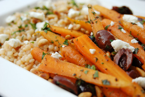 moroccan baby carrot salad